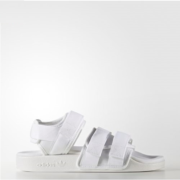 a5927915ce2a02 New Adidas Original Womens ADILETTE SANDAL BB5096 WHITE US W 5.5 ...