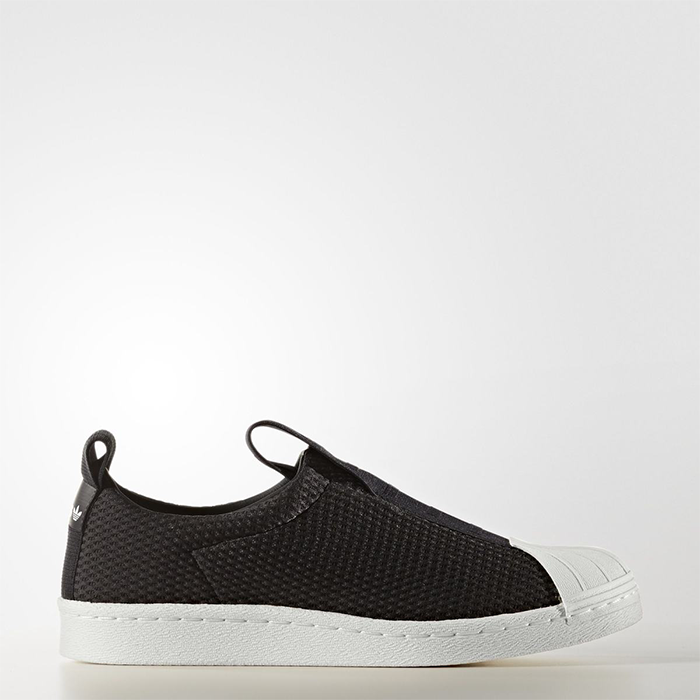 the latest bad61 f64dc Details about New Adidas Original Womens Superstar BW3S Slip On BY9137  BLACK US W 5 - 10 TAKSE