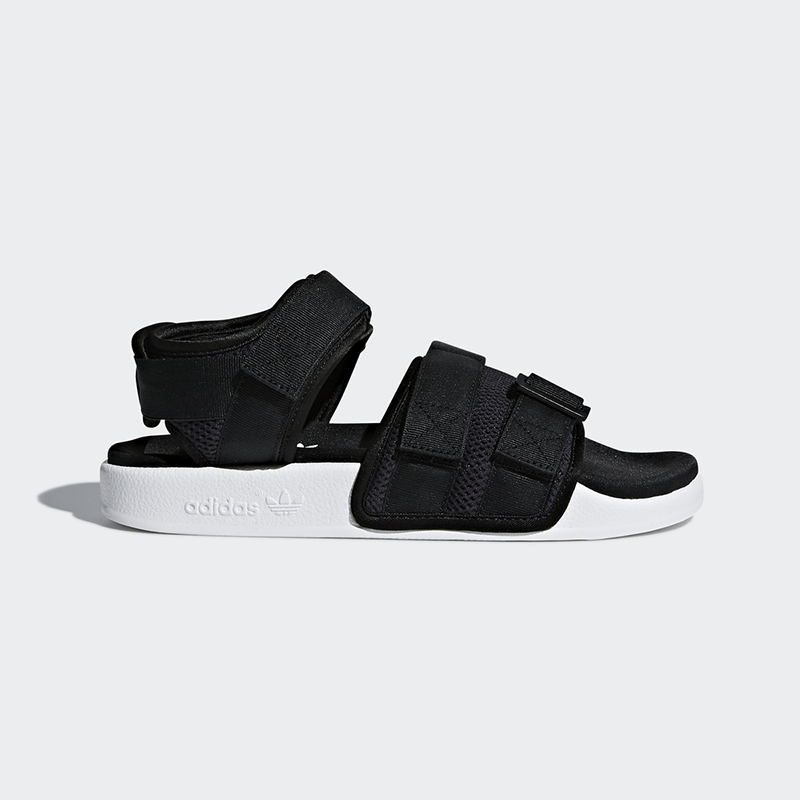 69b28ab1 Details about New Adidas Original Womens ADILETTE SANDAL AC8583 BLACK/WHITE  US W 5-9 TAKSE AU