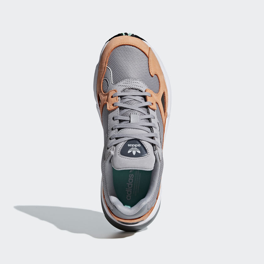 detailed look 04229 f54bf Athletic Shoes Running Shoes. Features •Function Adidas Original FALCON  B28130. •Color GREY  ORANGE
