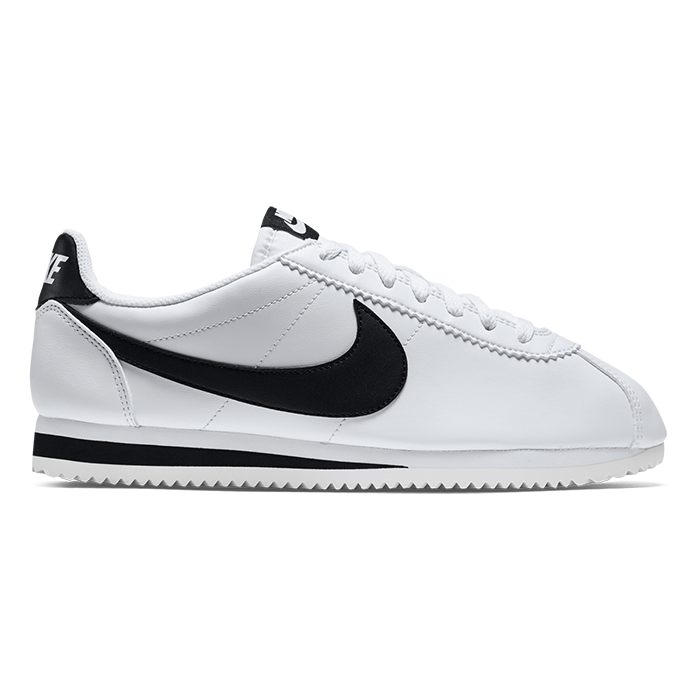 f04967175b Details about New NIKE WMNS Classic CORTEZ Leather WHITE   BLACK 807471-101  US W 5.5 - 9 TAKSE