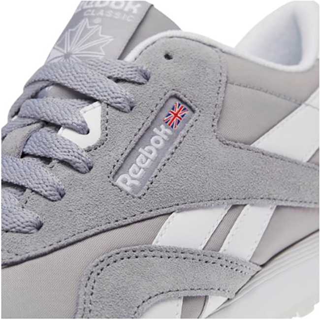 38b294954cc61 ... Reebok Classic Nylon BS9376. •Color  GREY. •Width   Medium. •Condition    New In Box