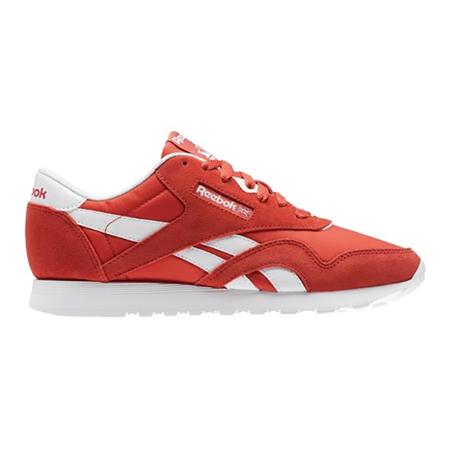 Details about New Womens Reebok Classic Nylon Neutral RED BS9377 US W 6.0 -  10.0 TAKSE 75921cec7